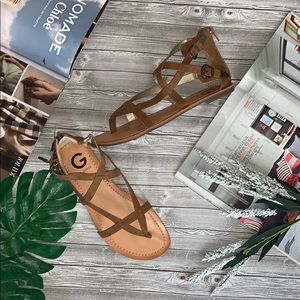NWT G by Guess Gladiator Sandals